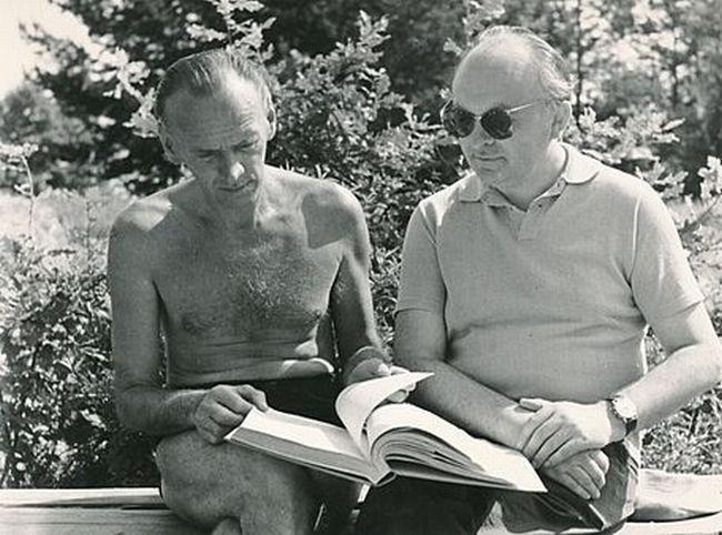 S básníkem Františkem Hrubínem
