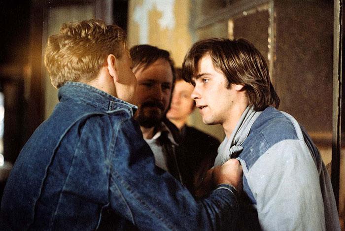 S Lukášem Vaculíkem a Markem Vašutem ve filmu Láska z pasáže