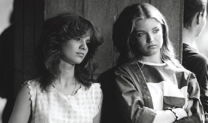 Ve Fontáně pre Zuzanu s Katarínou Šugárovou, která hrála Zuzaninu kamarádku Belu
