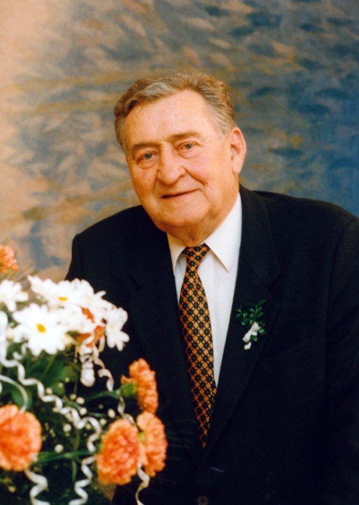 V roce 1997 na svatbě vnučky Jany
