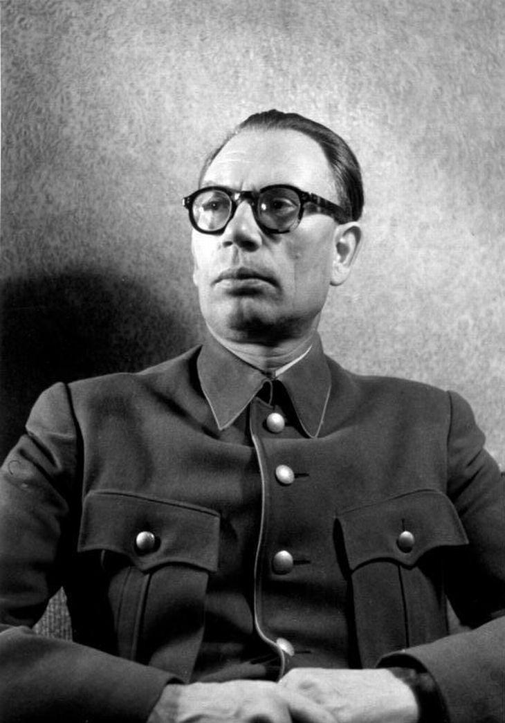 Generál Ruské osvobozenecké armády Andrej Andrejevič Vlasov