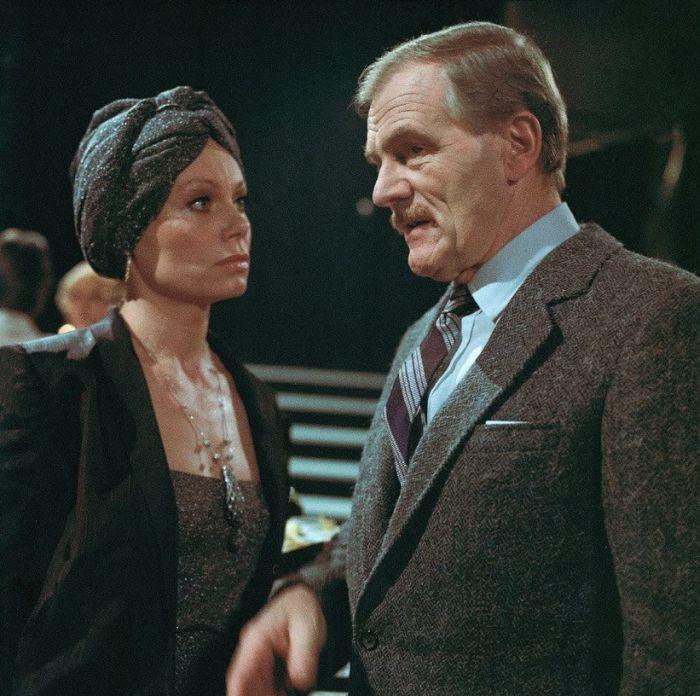 S Radovanem Lukavským v televizní detektivce Evy Sadkové z roku 1983 Vzpurní svědkové