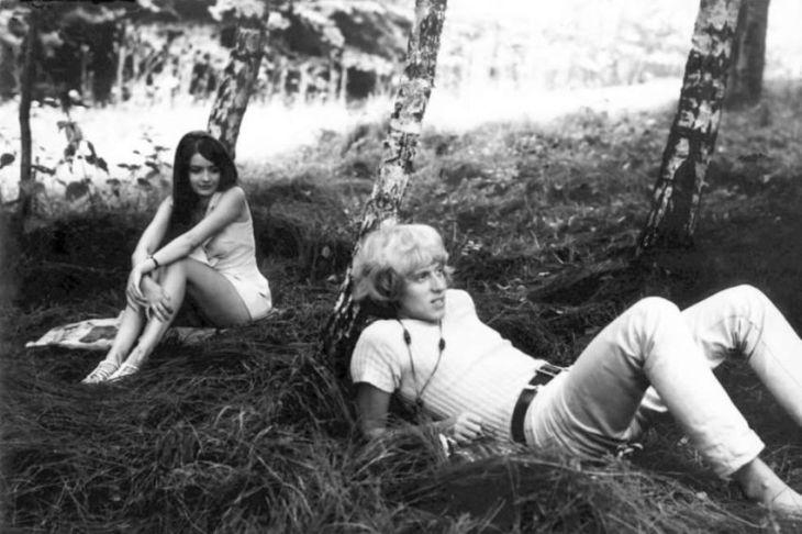 S Viktorem Sodomou v roce 1970 v dramatu režiséra Jana Kačera Jsem nebe