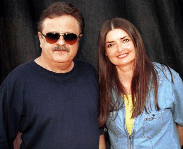 S manželem, zpěvákem Petrem Spáleným