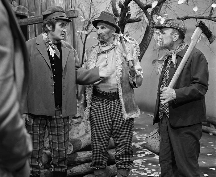 Naposledy před kamerou – s Františkem Filipovským a Pavlem Landovským v pohádce Nejsem chmýrko na bodláku