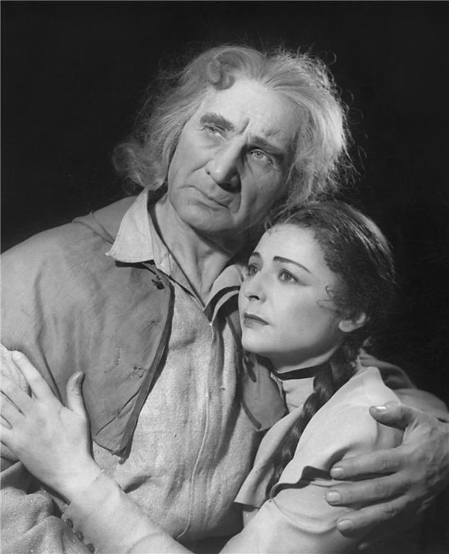 S Jiřinou Petrovickou v dramatu Kutnohorští havíři