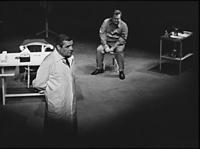 Doktor Galén v Čapkově dramatu Bílá nemoc (Komorní divadlo Praha, 1973)