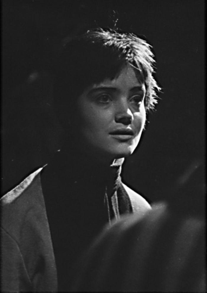 V roce 1962 v ostravském divadle, v představení Antigona a ti druzí