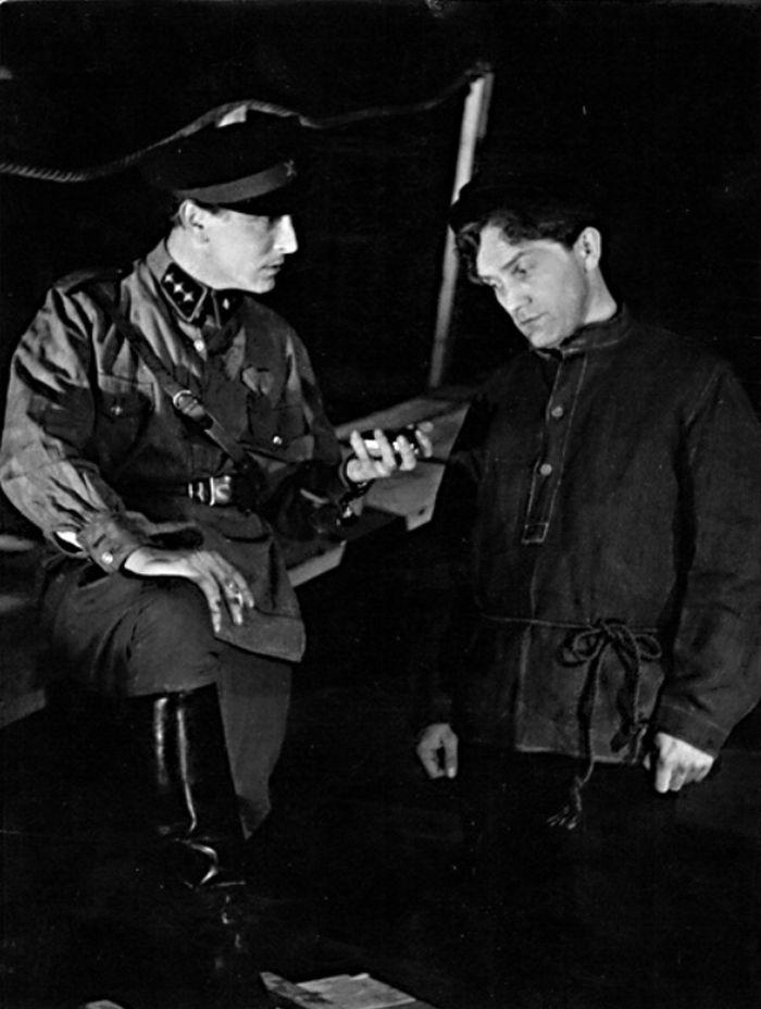 S Rudolfem Deylem ml. v dramatu N. F. Pogodina Aristokrati – Divadlo filmového studia Barrandov 1949