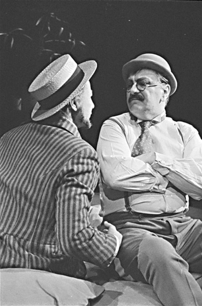 Du Mesnil v divadelní hře Henryho Becque Pařížanka – Městské divadlo Kolín 1972