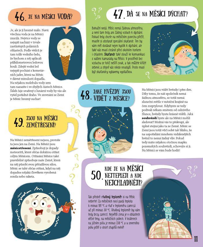 Všechno, co jste kdy chtěli vědět o Měsíci