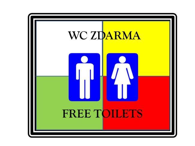 WC zdarma
