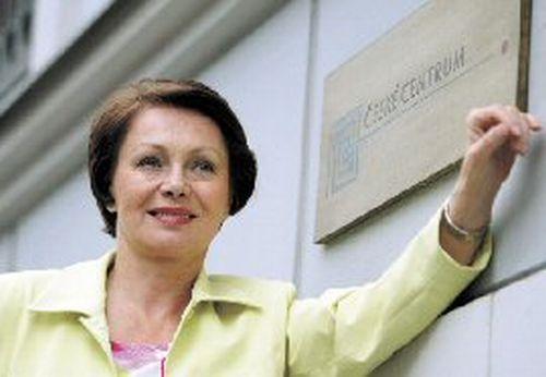 V době, kdy byla ředitelkou Českého centra v Bratislavě