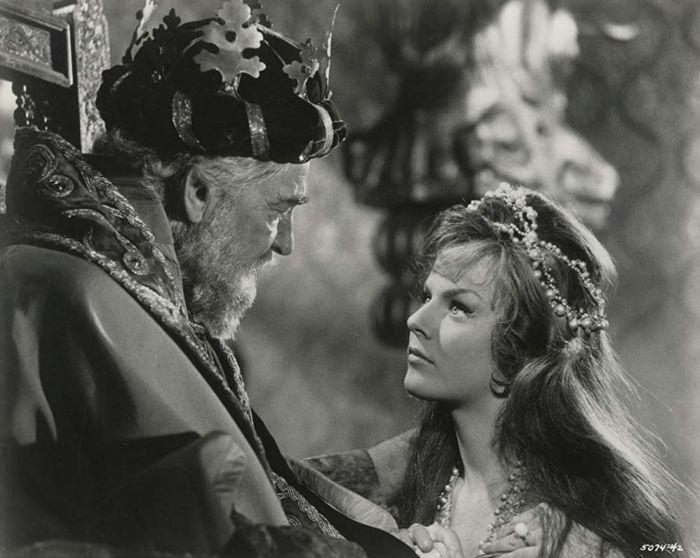 V roce 1963 s Heidi Brühl v dobrodružné fantasy Kapitán Sindibád