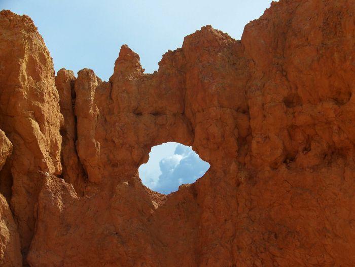 Skalní okno v n.p. Bryce Canyon