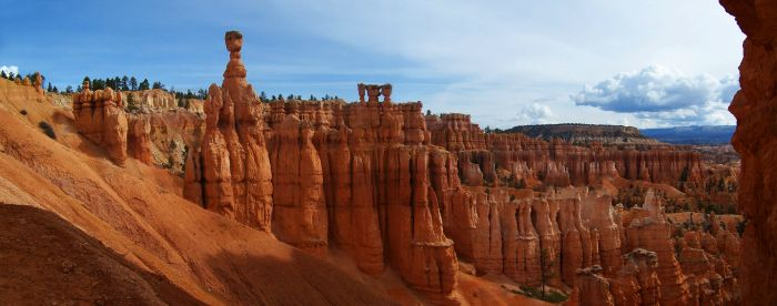 Panoramatický pohled na část n.p. Bryce Canyon