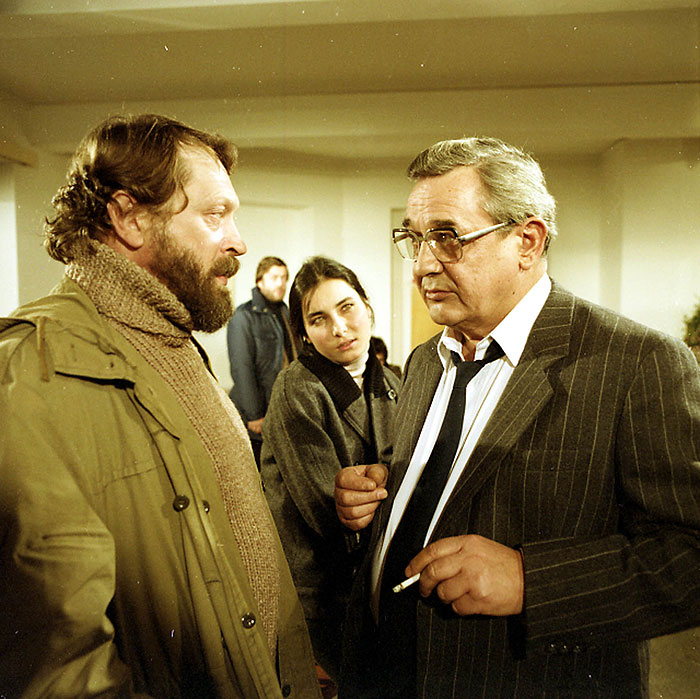 S Josefem Vinklářem v roce 1985 v úspěšné kriminálce Mravenci nesou smrt