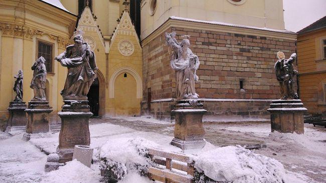 Žatec - Hošťálkovo náměstí