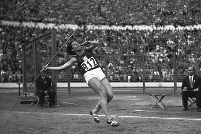 Na olympiádě v Helsinkách v roce 1952