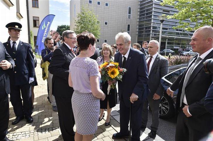 Miloš Zeman - Vysočina