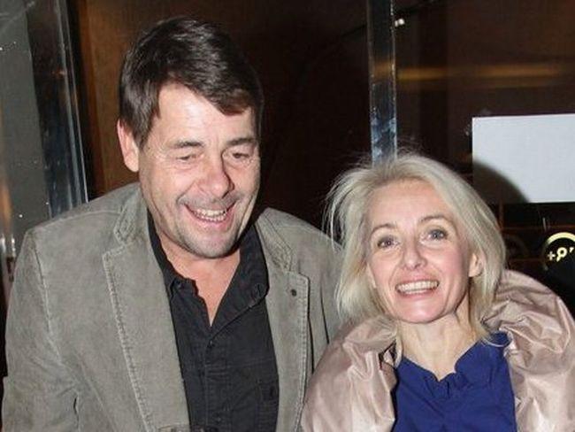 S druhým manželem Markem Navrátilem