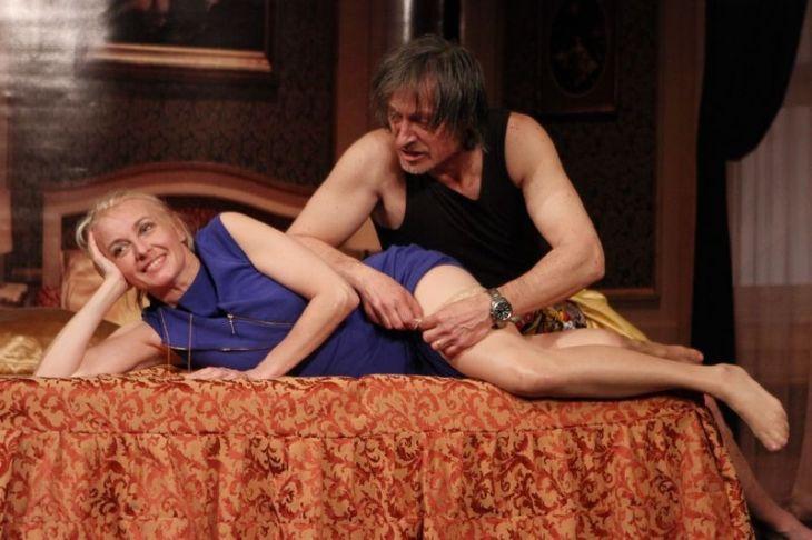 S Martinem Stropnickým ve hře Neila Simona Apartmá v hotelu Plaza