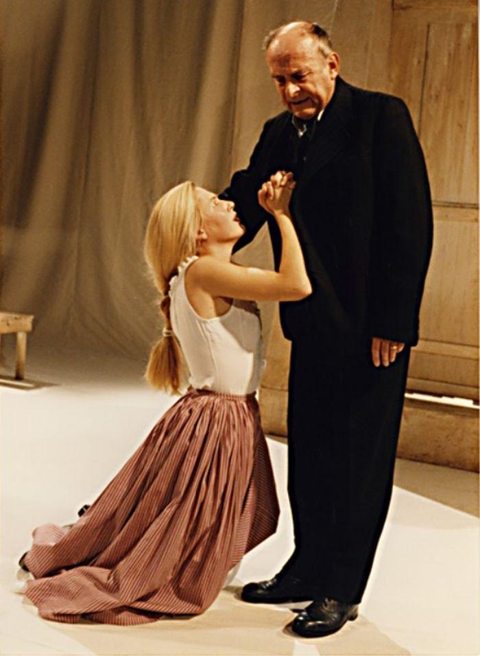 Lízal a Maryša (Markéta Rajchertová v Maryše – Divadlo F. X. Šaldy Liberec v roce 1994
