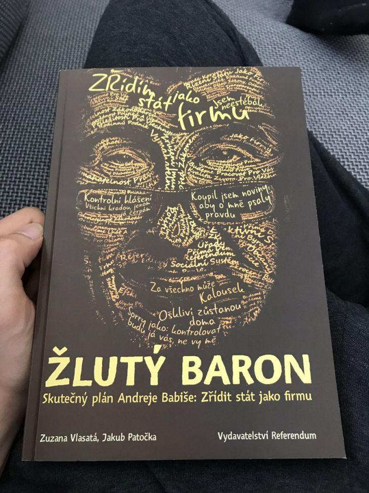 Obálka knihy Žlutý baron