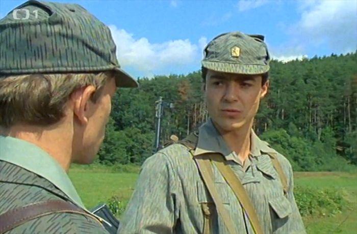 Vojín Tomáš Soukup v seriálu Chlapci a chlapi