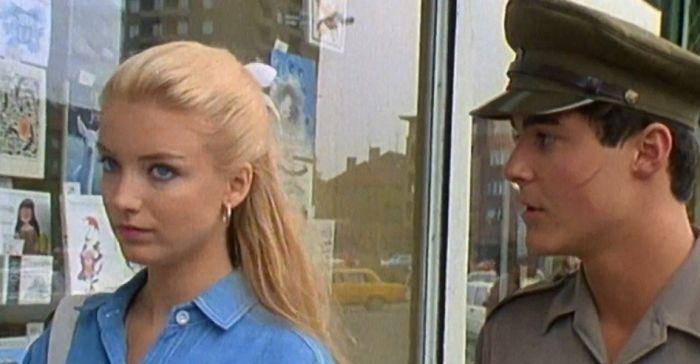 S Evou Vejmělkovou v seriálu Chlapci a chlapi