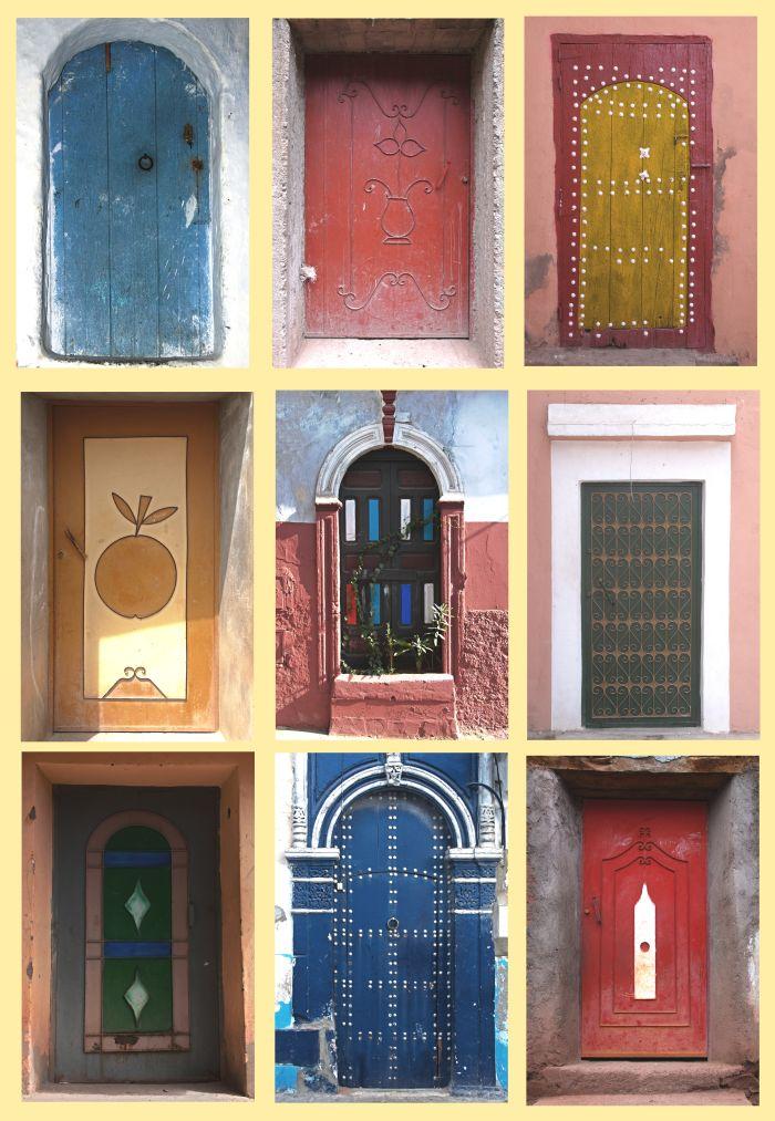 Dveře v Maroku