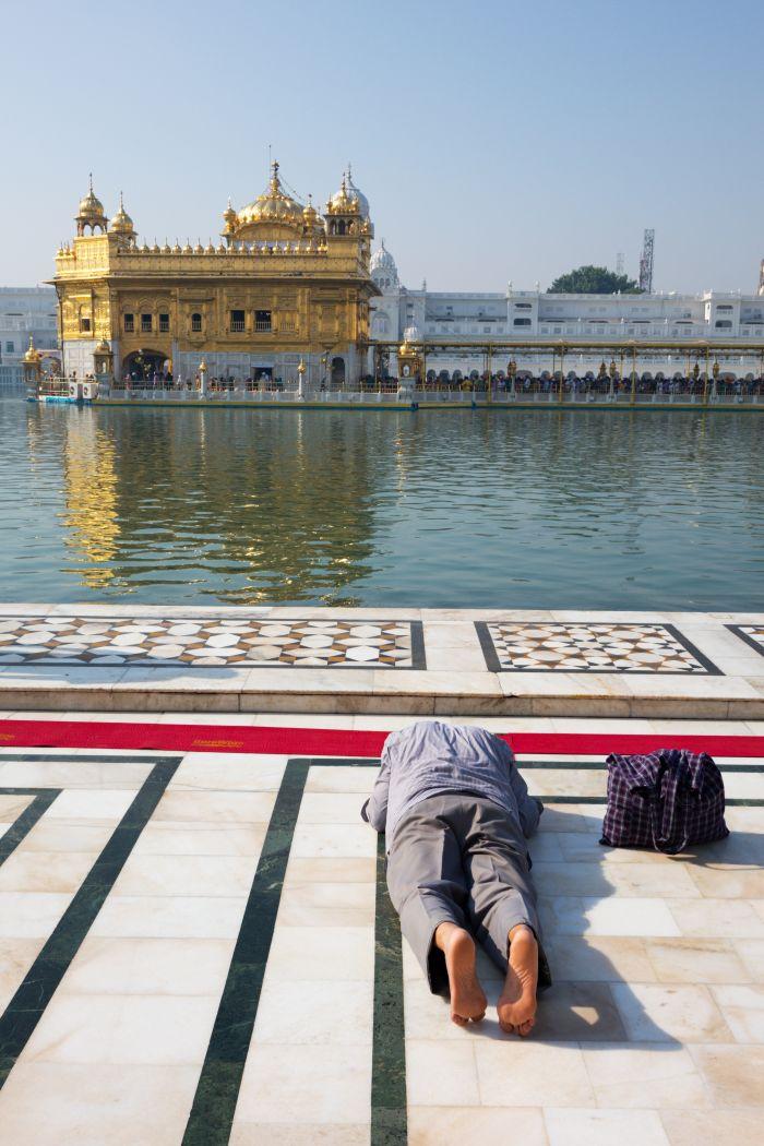 Zlatý chrám v Amritsaru je středobodem Sikhismu