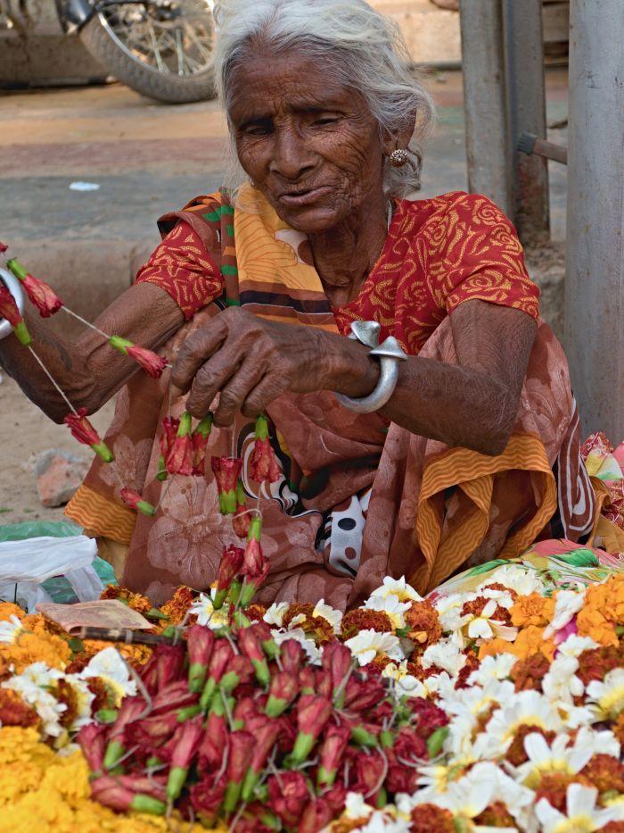 Výroba květinových ozdob
