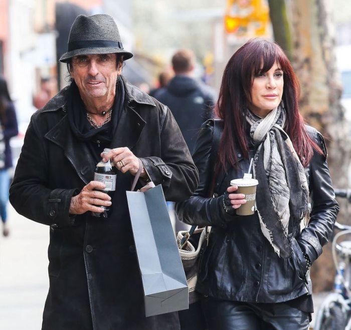 Alice Cooper se svou ženou