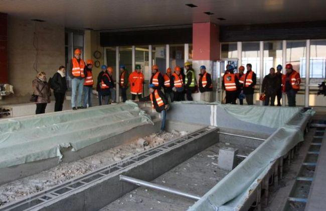 Rekonstrukce krytého bazénu v Roudnici nad Labem