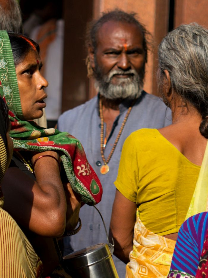 Hinduističtí obyvatelé Amritsaru