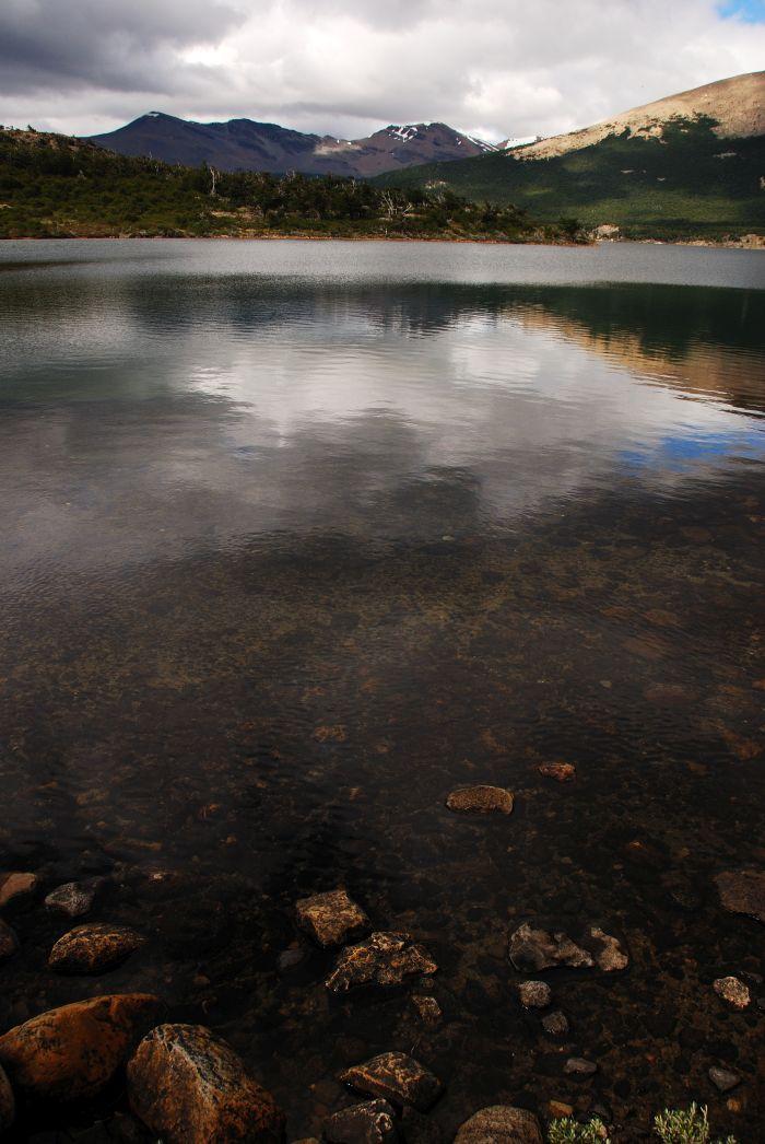 Jezero poblíž hory Fitz Roy