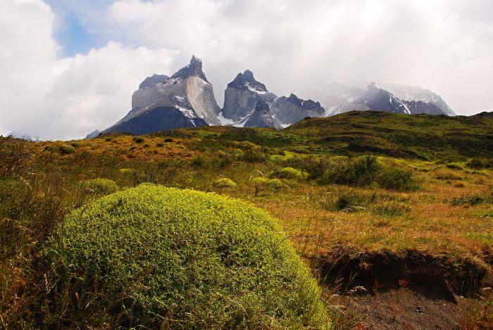 Cuernos del Paine připomínají jakési rohy