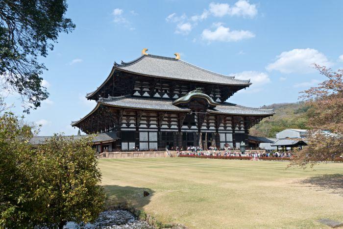 Velký východní chrám Tódaidži – největší dřevostavba na světě