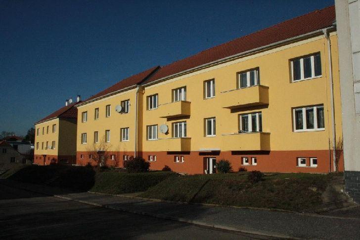 Dům v Týně nad Vltavou, kde bydlel Petr Demal se svými rodiči