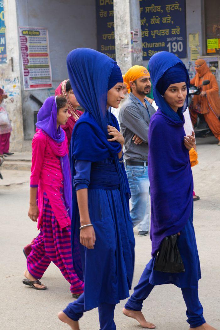 Sikhské princezny Kaur