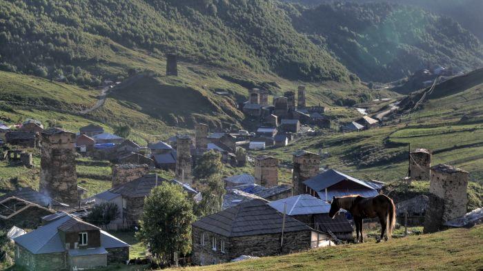 Některé budovy v části Chazhashi jsou zapsány na seznamu světového dědictví UNESCO
