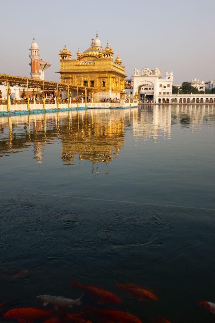 Zlatý chrám je středobodem Sikhů