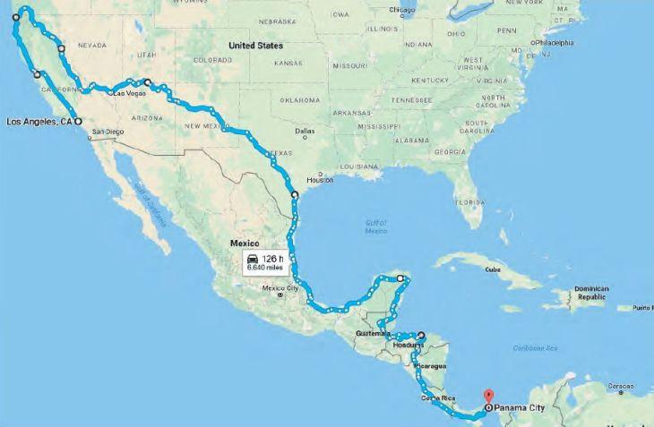 Kolem světa Žigulem - Severní Amerika