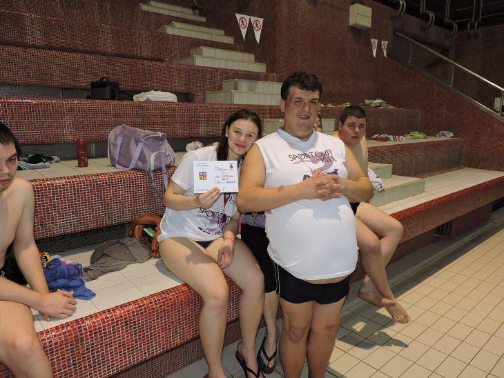 handicapovaní plavci
