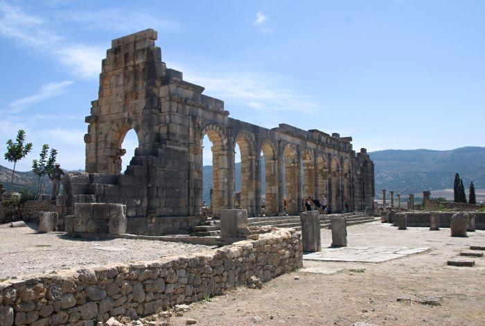 Římské město Volubilis