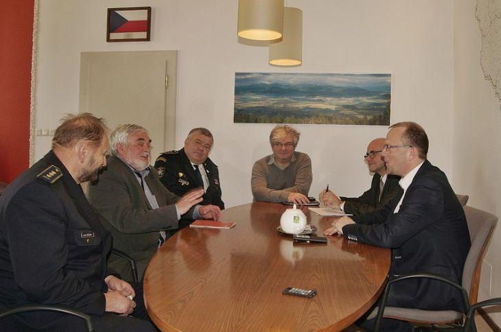 Jednání s představiteli SHČMS