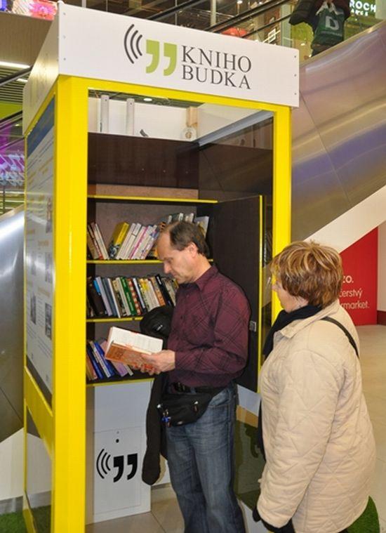 První knihobudka v Teplicích