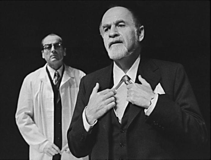 Baron Krüg v dramatu Karla Čapka Bílá nemoc – Komorní divadlo Praha 1973