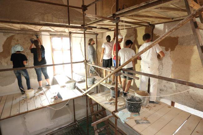 Oprava Lektorské místnosti Lodžie